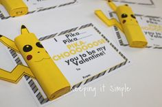 This post contains affiliate links.     When my son found out that I was going to make some Pokemon valentines  for my other son, he im...