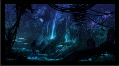 Matte Painting for Avatar by Dylan Cole. www.dylancolestudio.com