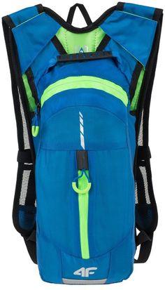 4F PCR001 plecak rowerowy, niebieski - MikeSport.pl