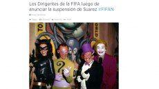 Reacciones en Twitter por castigo de Suárez#wunplan600, @lgzuluaga,http://latino.plan600.comhttp://plan600.info