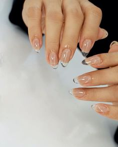 Pin on n a i l s Hair And Nails, My Nails, Fancy Nails, Nail Design Glitter, Nails Design, Tan Nail Designs, Salon Design, Fire Nails, Minimalist Nails