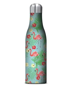 Flamingos Water Bottle #zulily #zulilyfinds
