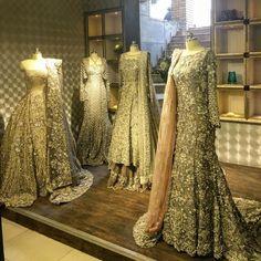 Visited @republicwomenswear today. Stunning bridals ❤️❤️ #republicwomenswear #republic #sanaomar #invoguepakistan