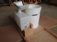 box compost toilet