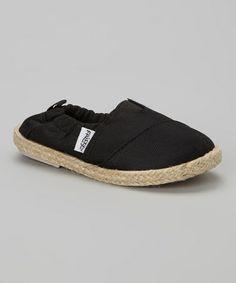 Look at this #zulilyfind! Black Flat by Frisky Shoes #zulilyfinds