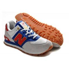 Find New Balance 574 Womens Grey White Blue For Sale online or in Footlocker. Shop Top Brands and the latest styles New Balance 574 Womens Grey White Blue For Sale at Footlocker. New Balance 574 Gris, New Balance Hombre, New Balance 574 Womens, Cheap New Balance, Grey New Balance, New Balance Shoes, Cheap Football Shoes, Nike Shoes Cheap, Moda Masculina