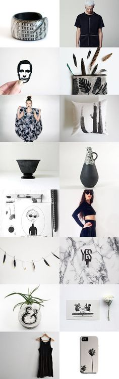 Black and White July by Marie-Anne on Etsy--Pinned with TreasuryPin.com
