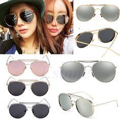 Women Retro Cat Eye Sunglasses Classic Oversized Designer Vintage Fashion Shades #Unbranded #Sport