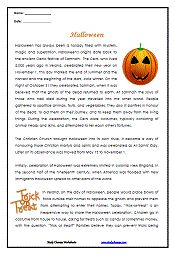 1000+ images about Halloween Worksheets on Pinterest | Social ...