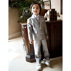 trajes portador del anillo gris muchacho trajes ropa formal para la fiesta (1351214) – EUR € 65.99