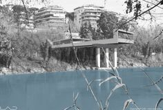 "RECOVERY OF  BAILEY BRIDGE PYLONS- DESIGN PROPOSAL  VIA DI TOR DI QUINTO, ROME    DESIGN 2011  CONCORSO DI IDEE ""PREMIO VOCAZIONE ROMA"" – PROGETTO VICITORE"