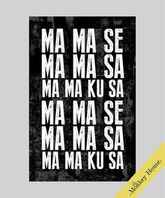 Wanna' Be Startin' Somethin', Michael Jackson Lyrics Poster, Wall Art, Typography Print on Etsy, $18.00