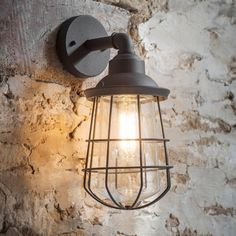 Outdoor Lighting, Outside Lights, Outdoor Wall Lights & Exterior lighting Outdoor Wall Lights, Industrial Light Fixtures, Wall Lights, Cage Wall Lights, Exterior Wall Light, Cage Light, Outdoor Walls, Lights, Exterior Lighting