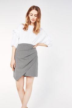 Cortefiel - Mini falda asimentrica