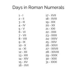 Roman Numeral NecklaceYou can find Roman numerals and more on our website. Date Tattoos, Mini Tattoos, Body Art Tattoos, New Tattoos, Small Tattoos, Sleeve Tattoos, Dragon Tattoos, Flower Tattoos, 27 Tattoo