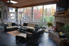 Back Porch Fireplace Ideas | The Back Porch Bar - Porche Designs - Decorating Ideas - HGTV Rate My ...