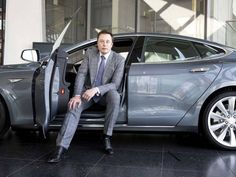 Tesla CEO Elon Musk hasn't been shy about where he thinks the auto industry is headed. In the not too distant future, Musk envisions that every car on the road will be fully autonomous. Elon Musk Car, Elon Musk Tesla, Tesla Ceo, Tesla Motors, Tesla Electric Car, Electric Cars, Jaguar, Foto Doctor, Refurbished Iphone