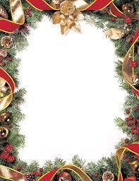 Winter Christmas Letterhead X Pk  Christmas Stationery