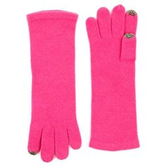 Echo iPhone compatible gloves - keep your hands warm while texting in winter weather. Love this pair of cashmere, but they're available in cotton too.