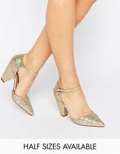 Get this Asos's heeled shoe now! Click for more details. Worldwide shipping. ASOS SPEAKER Pointed Heels - Gold: Heels by ASOS Collection, Textile upper, Metallic finish, Ankle-strap fastening, Pointed toe, Block heel, Wipe with a damp cloth, 50% Textile, 50% Other Materials Upper, Heel height: 8.5cm/3. Score a wardrobe win no matter the dress code with our ASOS Collection own-label collection. From polished prom to the after party, our London-based design team scour the globe to nail your…