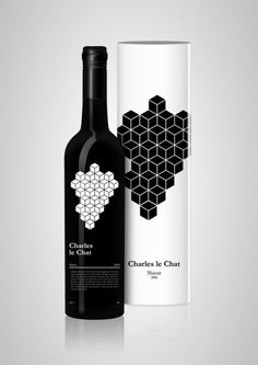 THE GOOD DROP - smart stylized illustrated metaphor of grapes - for design loving wine connoisseurs!