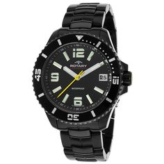 Rotary Men's Aquaspeed Ion-plated Watch