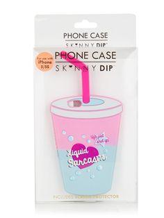 Skinnydip iPhone 5/5S Liquid Sarcasm Case