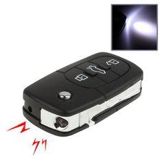 [$1.67] Prank Trick Joke Toy - 3 in 1 Electric Shock Car Key Remote Control with Flashlight