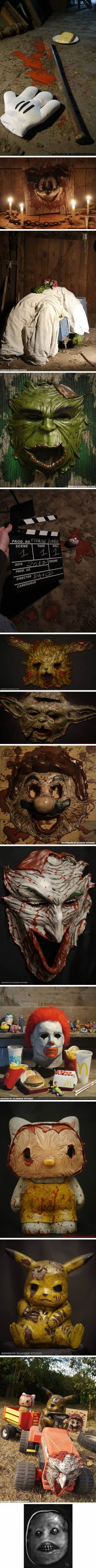 These Creepy And Realistic Handcrafted Masks Are Freaking Us Out