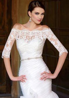 IVOIRE by KITTY CHEN FRANCESCA JACKET, V1375J Wedding Dress - The Knot