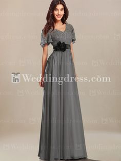 Casual Mother of the Bride Dress with Short Sleeves MO035  I like this one mom   can order custom swatches and it asks for arm girth in measurements!!