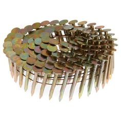 "Grip Rite GRCR3DGAL 1-1/2"" X .120"" Galvanized Coil Roofing Nails 7,200-ct"