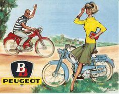Cyclomoteurs Peugeot
