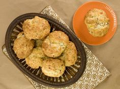 Bacon, Cheddar and Chive Biscuits from CookingChannelTV.com