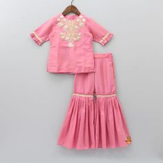 Shop online for Indian Ethnic wear for your baby, toddler or child. We also customise Indian Ethnic Wear. Party Wear Frocks, Kids Party Wear Dresses, Baby Girl Party Dresses, Little Girl Dresses, Cute Dresses, Ruffled Dresses, Baby Lehenga, Kids Lehenga, Pakistani Kids Dresses