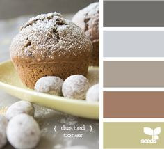 dusted tones / neutral colors