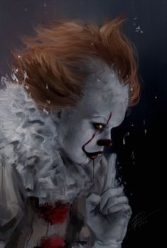 Pennywise y tu❤ - 🎈cap Scary Movies, Horror Movies, Bill Skarsgard Pennywise, Scary Wallpaper, Pennywise The Dancing Clown, Horror Artwork, Illustration Mode, Evil Clowns, Creepy Clown