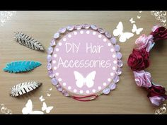 ✿ ❀ DIY Easy Hair Accessories ❀ ✿ Bohemian Style