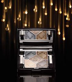 Dior Golden Shock Makeup Collection For Holidays And Beyond - Lux Pursuits Dior Makeup, Beauty Makeup, Hair Beauty, Dior 2014, Cosmetics & Perfume, Makeup Rooms, Christmas Makeup, Grey And Beige, Makeup Collection