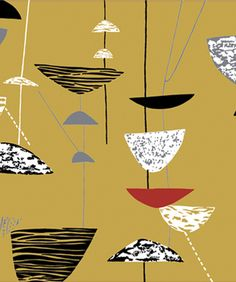 Calyx by Lucienne Day.