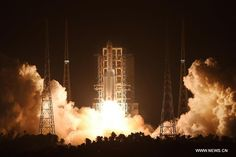 nice China launches Long March 5, one of the world's most powerful rockets