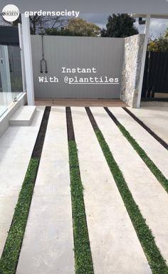 Tiles, Garage Doors, Sidewalk, Australia, Garden, Outdoor Decor, Plants, Home Decor, Room Tiles