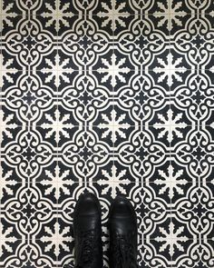 with our cigar shop pattern we celebrate two of our favorite features - cuba's fine cigars and their vibrant architecture. our vision of a small shop with high style providing the finest of cuba's cigars is the fantasy behind this favored pattern. shop this bold and elegant pattern today. #cement #tiles #floor #design Havana Bar, Cuba Cigar, Cigar Shops, Artistic Tile, Moroccan Pattern, Cement Tiles, Floor Design, Tile Patterns, Cigars