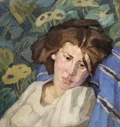 Walter Georgi -           Weibliches Portrait, um 1908