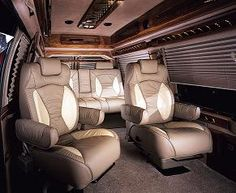 Viano Luxury Van By Daimler Mercedes And Klassen