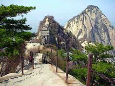 Mount Hua - China ~ @My Travel Manual