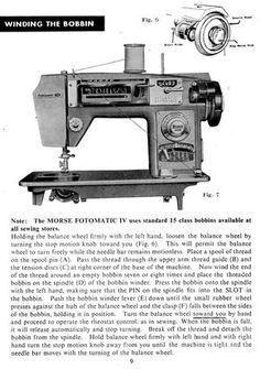 morse sewing machine manuals instruction and repair manuals rh pinterest com Threading a Singer Sewing Machine Kenmore Sewing Machine Threading Diagram