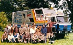 Všichni ze Studénky, kdo se podíleli na vývoji nástavby Tatry 815 GTC