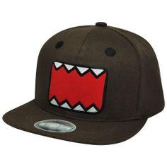 27ce7dea4426d Japanese Animation Domo Kun NHK Sonic Flat Bill Adjustable Snapback Face Hat  Cap for sale online