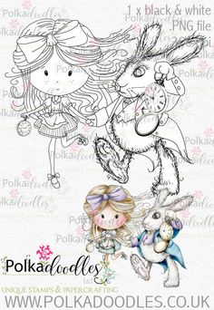 Winnie in Wonderland Alice Through the Looking Glass Digital Stamp printables perfect for digital cards, digi scrap kit, digital scrapbooking, cardmaking hybrid crafting Adult Coloring Pages, Coloring Books, Hello Printable, Cute Images, Digi Stamps, Art Journal Inspiration, Machine Embroidery Designs, Alice In Wonderland, Creations